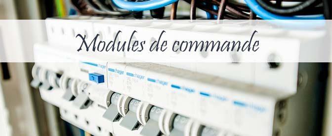 Module de commande : pour un tableau électrique plus complet