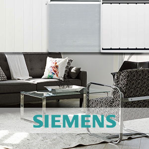 Le radiateur inertie au cœur de la gamme de chauffage électrique Siemens