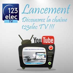 Lancement de la chaîne YouTube 123elecTV