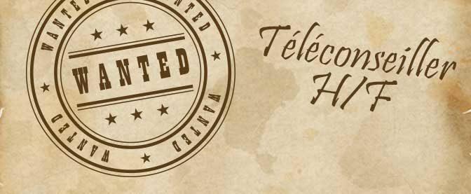 Recrutement : Téléconseiller / Téléconseillère