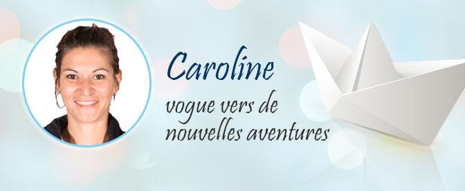Caroline quitte le navire 123elec