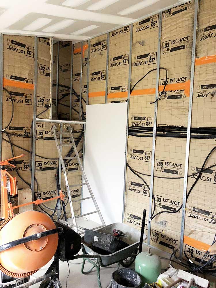 Transformation de garages en loft