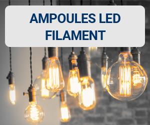 Coup de cœur du blog 123elec sur les ampoules LED filament