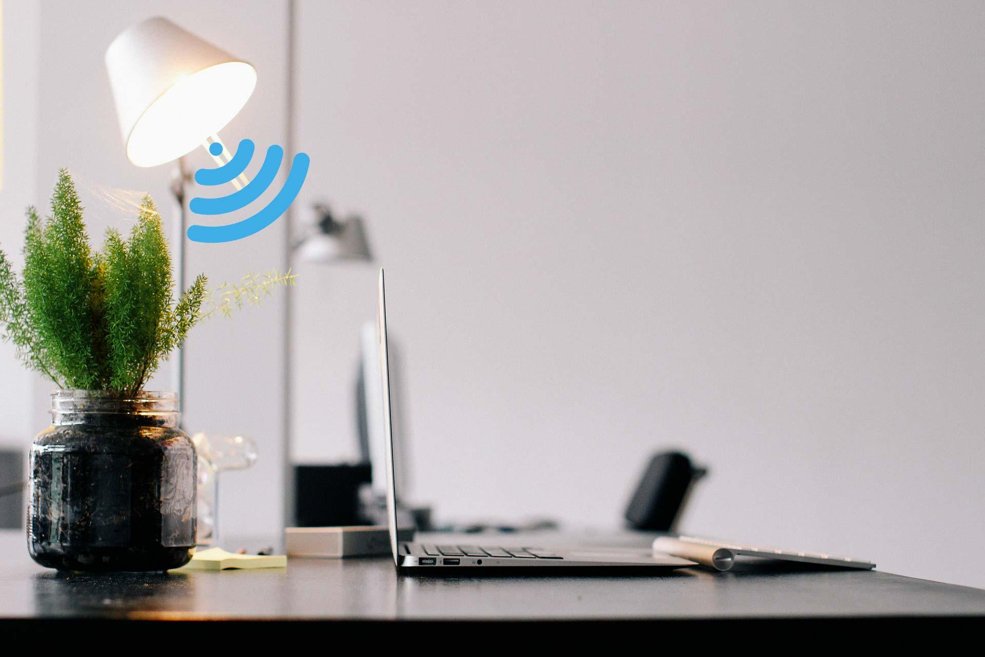 Lifi, l'accès à Internet via un luminaire