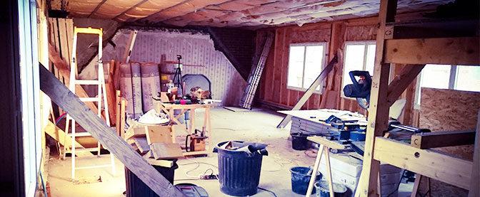 Rénovation complète d'une habitation, le récit d'un passionné