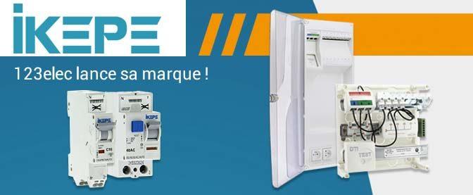 IKEPE, le site 123elec.com, leader de la vente en ligne de matériel électrique, lance sa marque