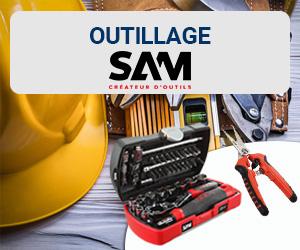 Coup de cœur janvier 2019 : outils SAM Outillage