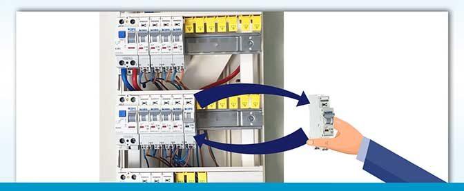 Changer un disjoncteur dans un tableau électrique