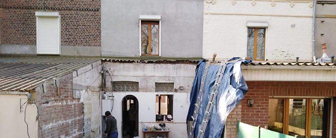 Restauration d'une maison lilloise des années 30