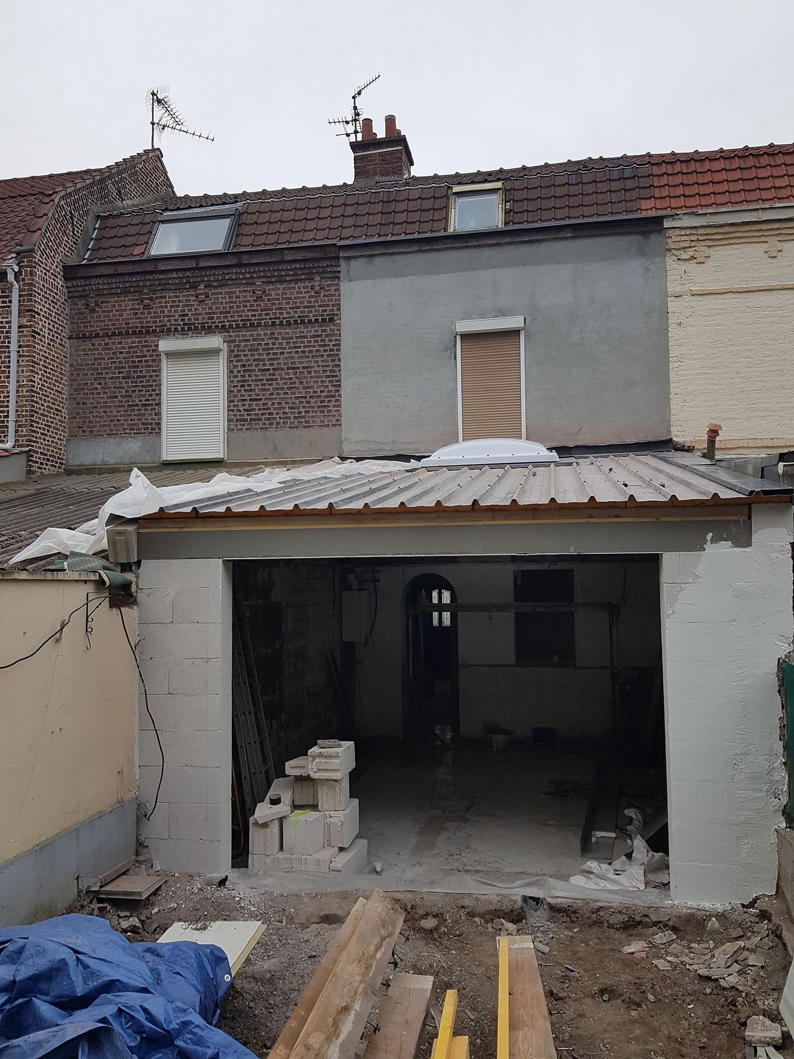 Restauration d'une maison lilloise