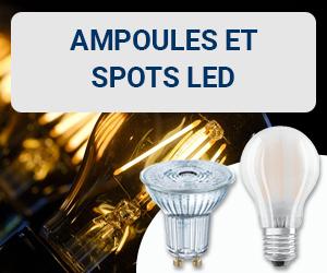 Produits coup de cœur novembre 2019 : ampoules et spots LED