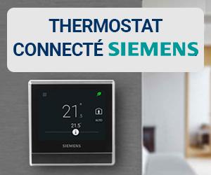 Produit coup de cœur 123elec janvier 2020 : thermostat connecté Siemens