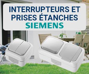 Produits coup de cœur avril 2020 : interrupteurs et prises étanches Siemens