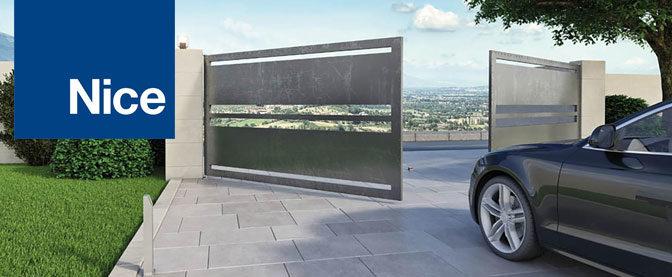 Zoom sur la gamme de motorisation portail et garage Nice