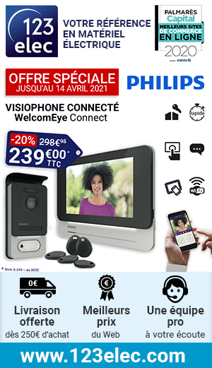 Offre spéciale visiophone PHILIPS