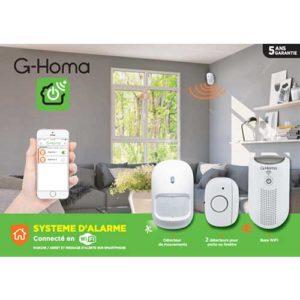 alarme maison G-Homa