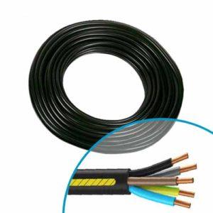 câble électrique installation climatisation