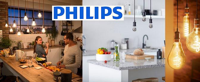 Zoom sur les ampoules décoratives LED à filament de la marque Philips